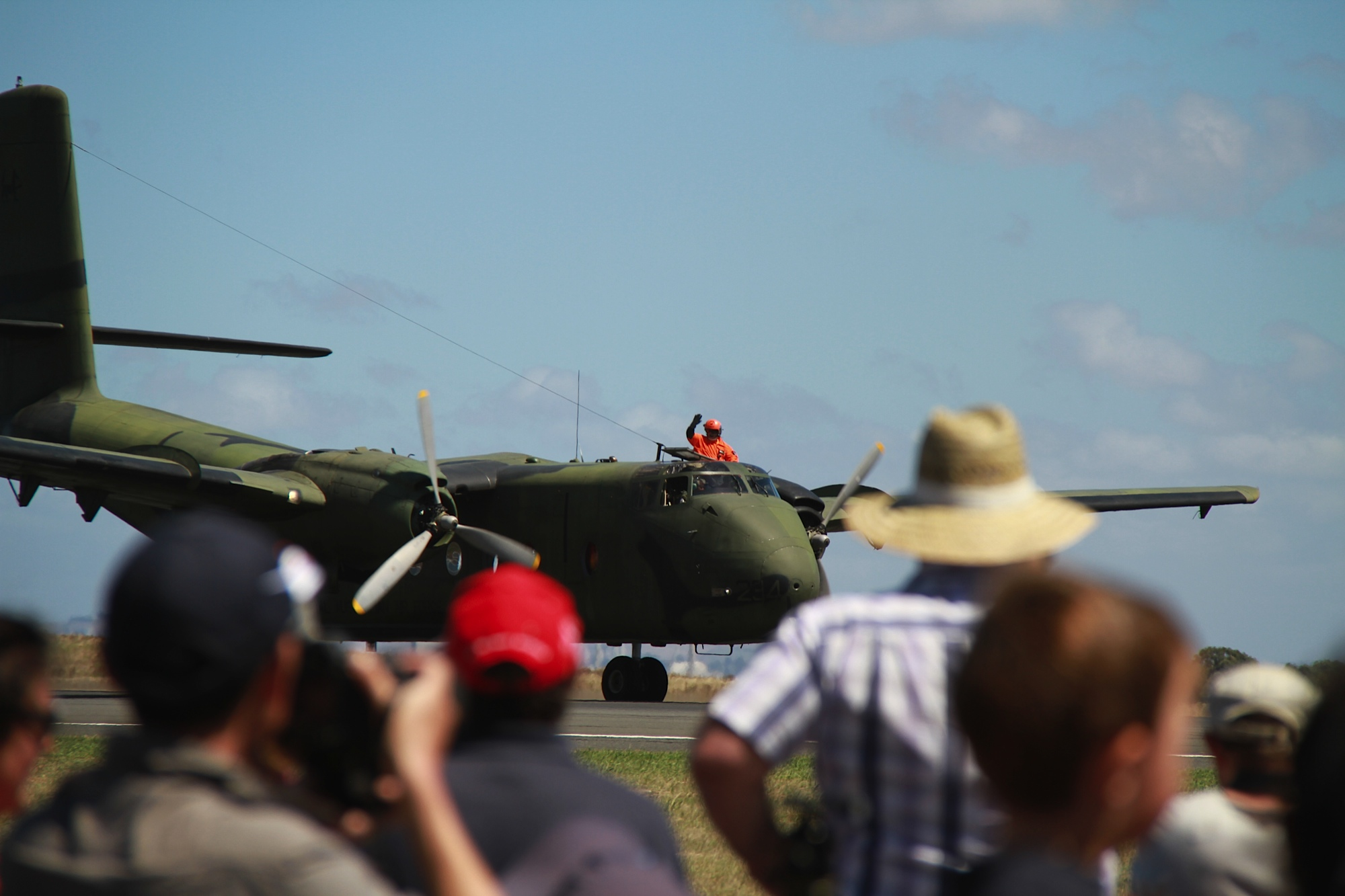 A4-234 wowing crowds at Avalon 2013